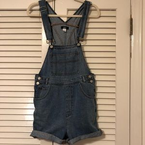 UO denim overalls